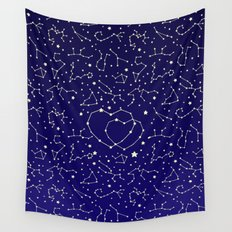 Star Lovers Wall Tapestry