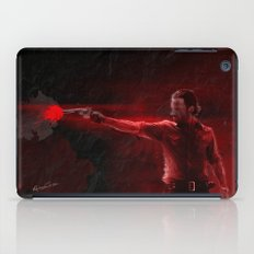 The Walking Dead Rick Grimes oil painting effect iPad Case