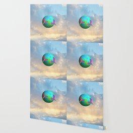 Gaia   Planet Earth into a New Dimension #society6 Wallpaper
