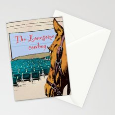 Lonesome cowboy Stationery Cards