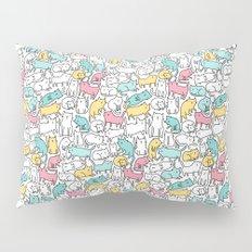 Cute kitties. Cats pattern. Pillow Sham