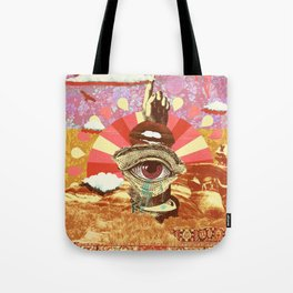 AFTERNOON PSYCHEDELIA (REDUX) Tote Bag