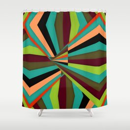 Fugitive (Feel The Chaos Around Us) Shower Curtain