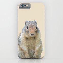 Marmot Illustration iPhone Case