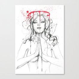 Saint or sinner Canvas Print