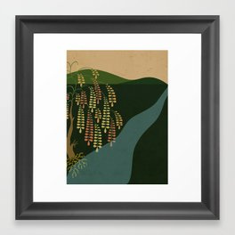 Fall. Framed Art Print