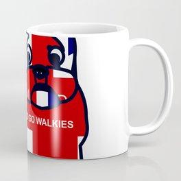 Keep Calm and Go Walkies French Bulldog Coffee Mug