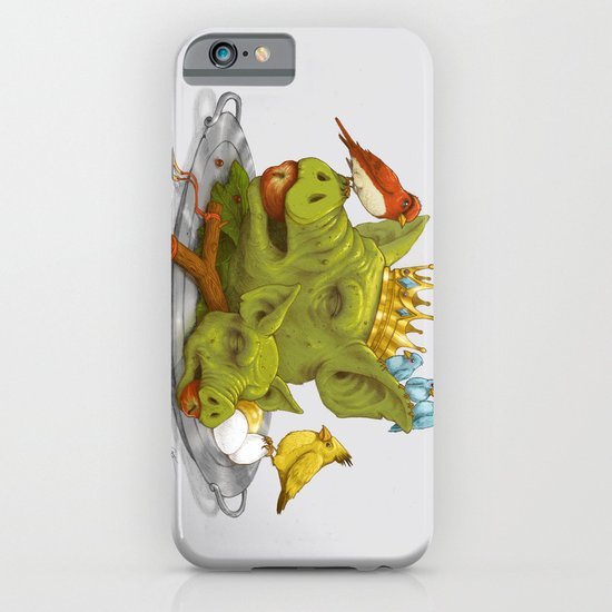 Furious Fowl iPhone & iPod Case