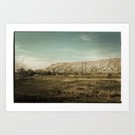 Colorado Foothills Art Print