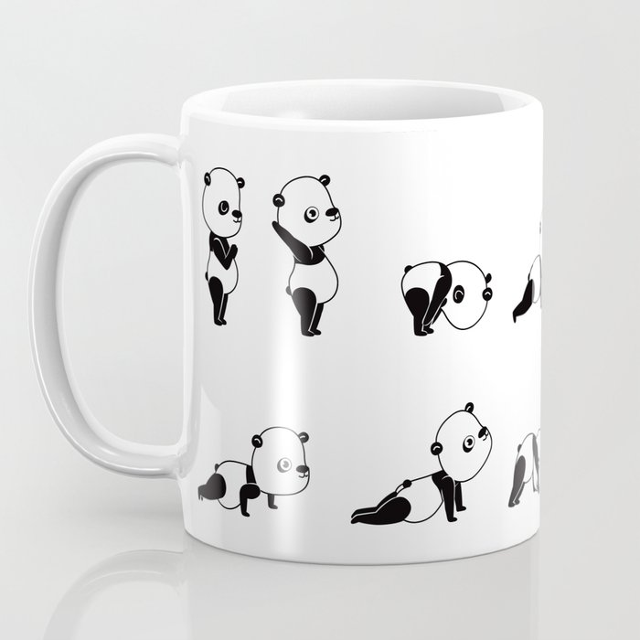 Yoga Bear - Panda Coffee Mug