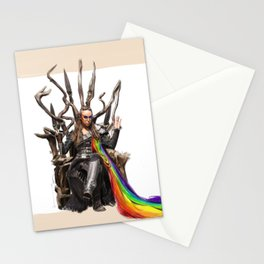 Commander Lexa - The 100 Stationery Cards