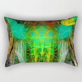 The Cooling Spirit of Autumn Rectangular Pillow