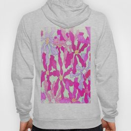 Bright and Hazy Floral Hoody