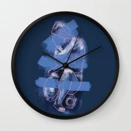 Crouching Venus Wall Clock