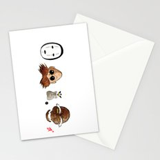 Make the Unlikeliest of Friends, Wherever You Go 2 Stationery Cards