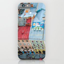 panorama Lviv iPhone Case