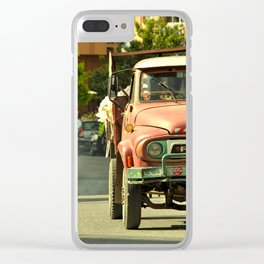Morrocan Pick up Clear iPhone Case