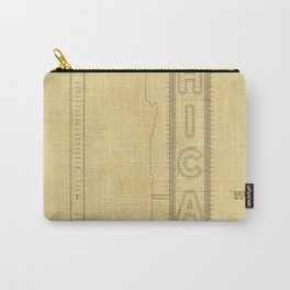 Chicago Theatre Blueprint Carry-All Pouch