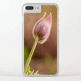 Haired beauty Clear iPhone Case