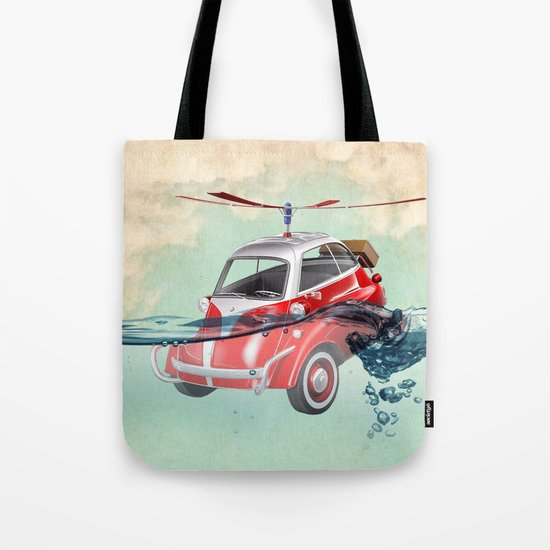 Isetta  all terrain vehicle Tote Bag