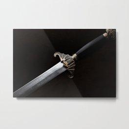 The Sword Metal Print