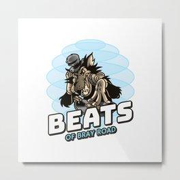 Beats of Bray Road Metal Print