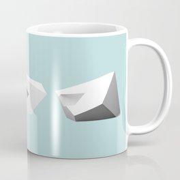 Transformations on a Cube Coffee Mug
