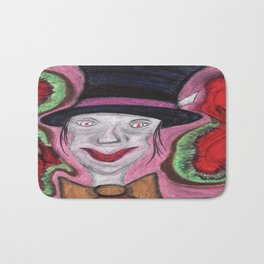 The Mad Hatter Bath Mat