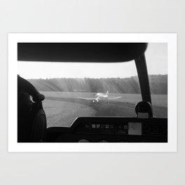 Take-off Art Print