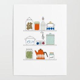 Scandinavian Pantry Poster