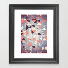 Abstract Sky Framed Art Print