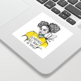 #STUKGIRL ALIANA Sticker