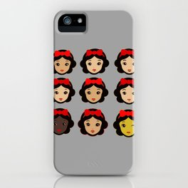 Snow White and her clones iPhone Case