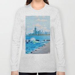 City on the Lake Long Sleeve T-shirt