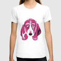 the hound T-shirts featuring Hound Dog by andiroses