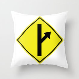 MGTOW Symbol Throw Pillow