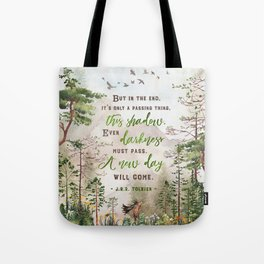 But in the end Tote Bag