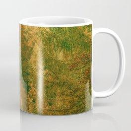 Vintage Forest Artwork Coffee Mug
