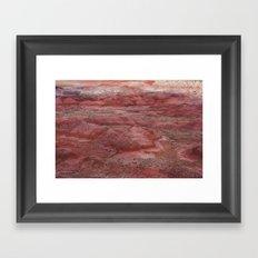 Desert Striations I Framed Art Print