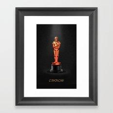 C3POscar Framed Art Print
