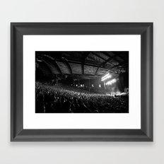 Pearl Jam 20 - Alpine Valley Pavilion Framed Art Print