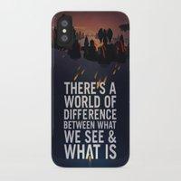 bioshock infinite iPhone & iPod Cases featuring Bioshock Infinite Quote by Simon Ward