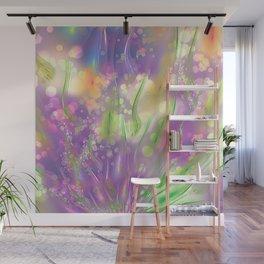 Magic Flowers Wall Mural