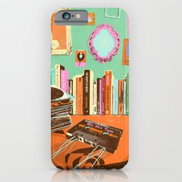 RECORDS N TAPES iPhone Case