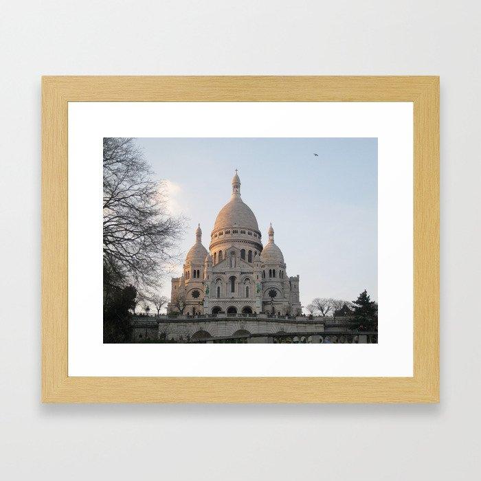 Sacré-Cœur Basilica Framed Art Print