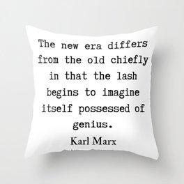 52    Karl Marx Quotes   190817 Throw Pillow