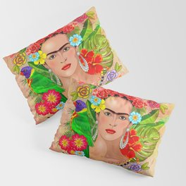 Frida Kahlo 3 Pillow Sham