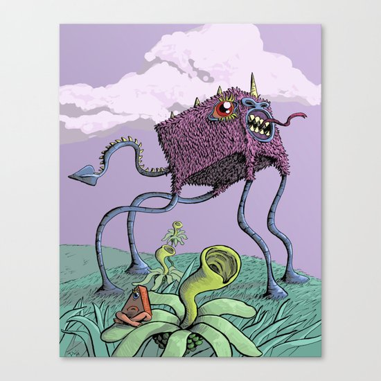 4D Canvas Print