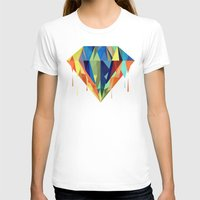 diamond T-shirts featuring Diamond by By Nordic