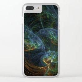 fractal Bunt Clear iPhone Case
